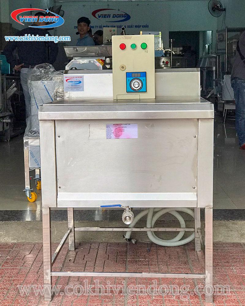 Bếp chiên nhúng công nghiệp 200L là sản phẩm đặt hàng tại Viễn Đông