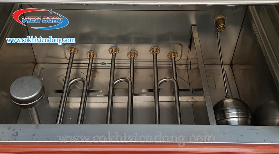 Tủ nấu cơm công nghiệp 12 khay-5