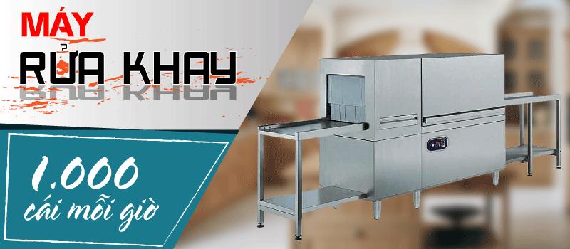 Máy rửa khay công nghiệp tự động