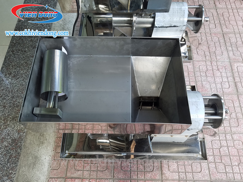 máy ép cốt dừa công nghiệp