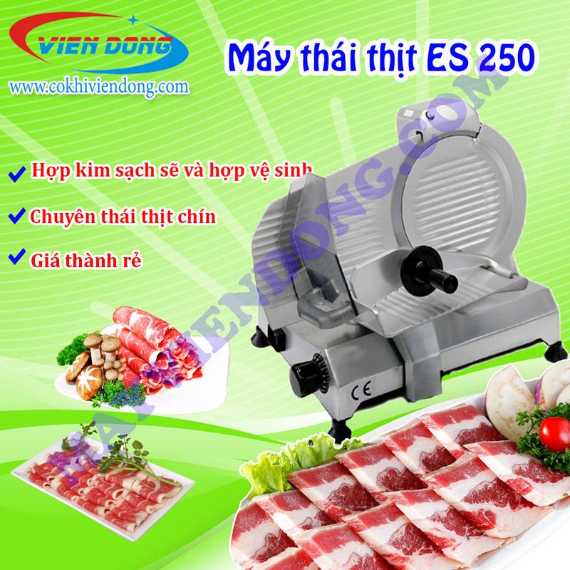 máy thái thịt chín es250