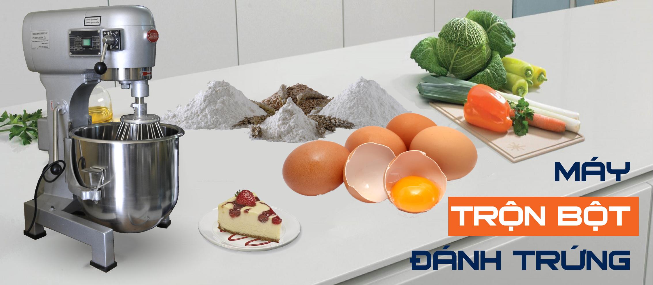 Máy đánh kem, đánh trứng để bàn