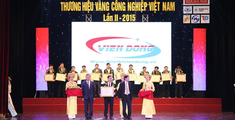 Viễn Đông - Thương hiệu Vàng Công nghiệp 2015