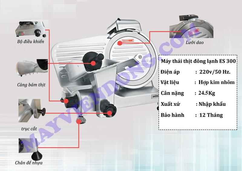 Sử dụng máy cắt thịt đông lạnh ES 300 như thế nào là đúng?