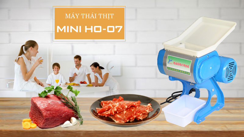 Máy thái thịt gia đình HO-07