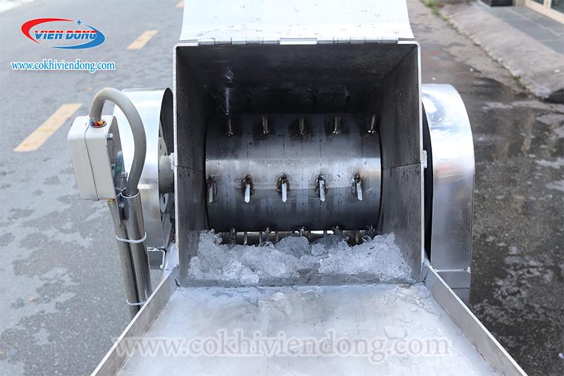 Máy xay đá công nghiệp inox 304 (xay nguyên cây)
