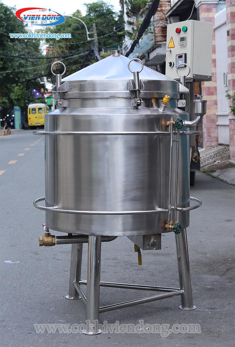 Bộ nồi nấu rượu bằng điện