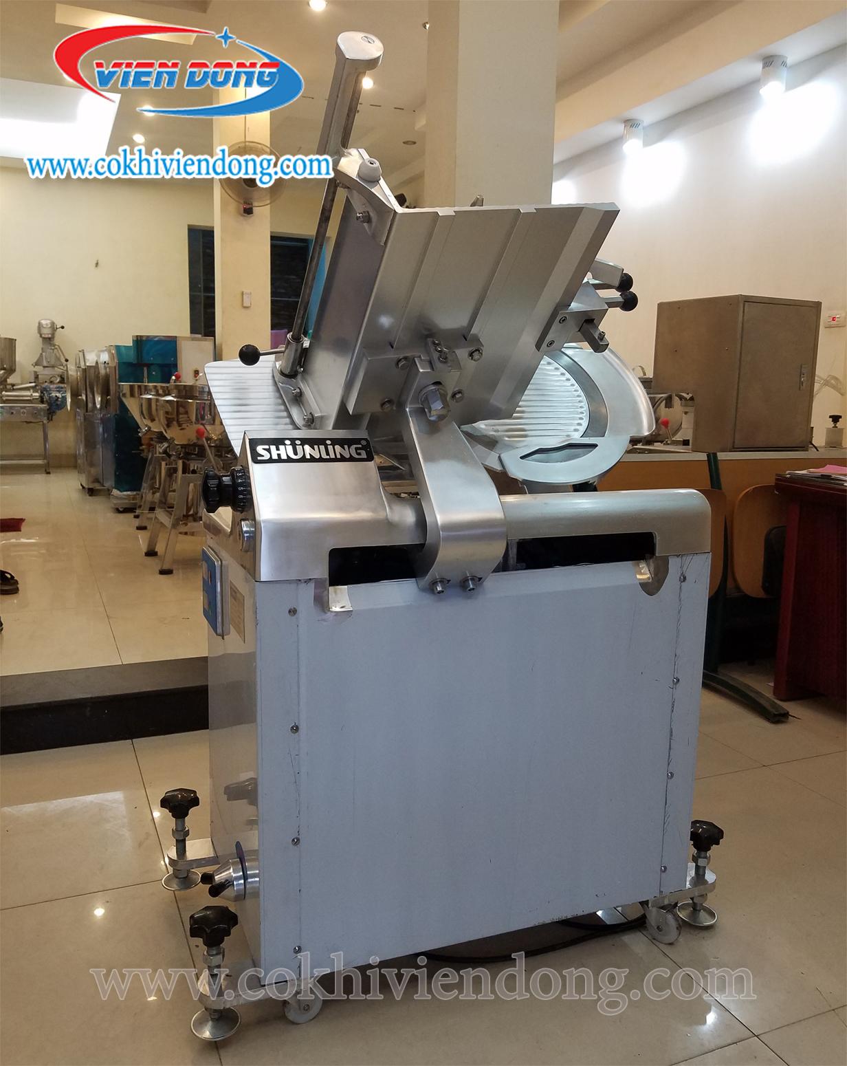 Máy cắt thịt đông lạnh công nghiệp SL350B-anh1