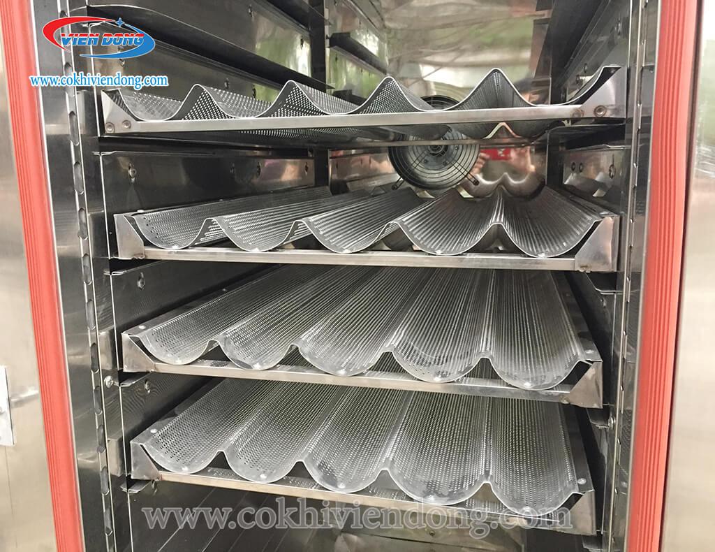 Lò nướng bánh mì đối lưu 10 khay Việt Nam