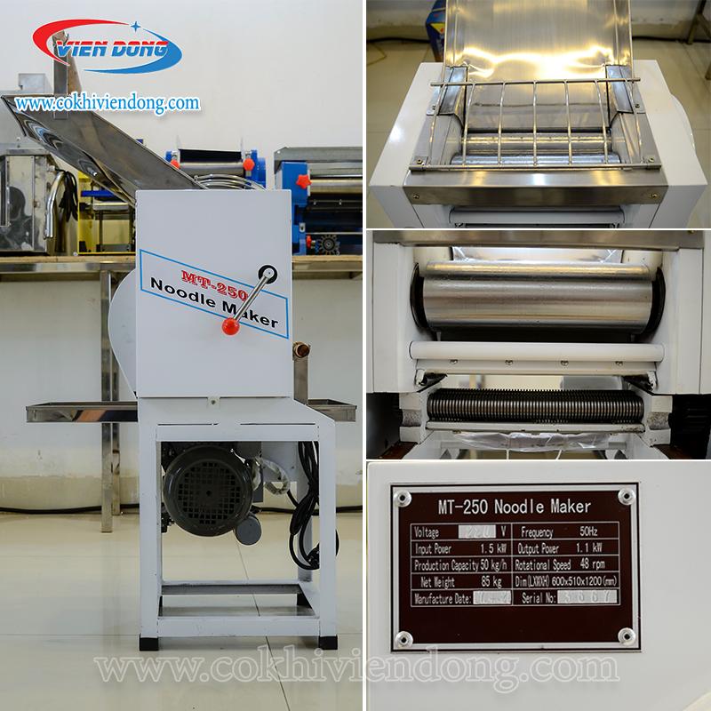 Máy cán bột cắt sợi công nghiệp