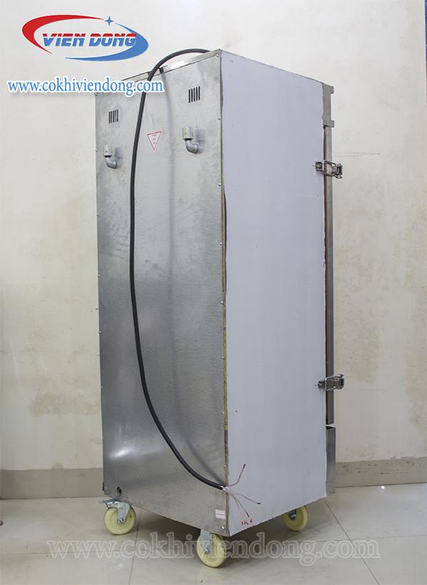 tủ hấp việt nam điện và gas 12 khay
