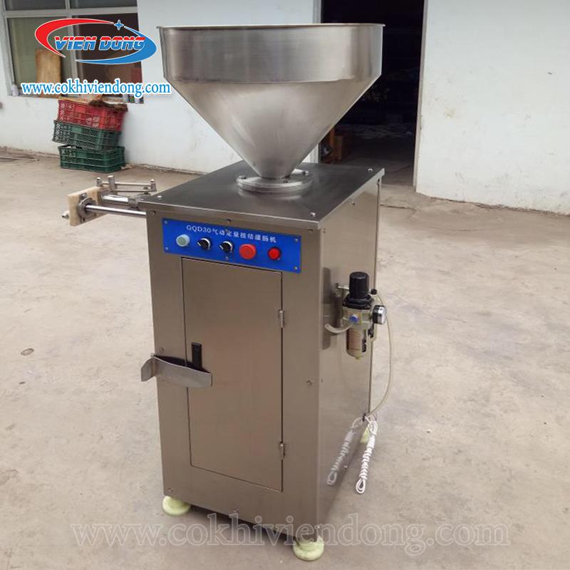 máy đùn xúc xích buộc đầu công nghiệp