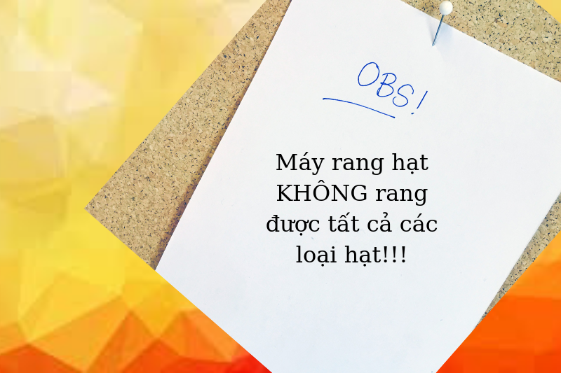 Máy rang hạt Việt Nam VD 30