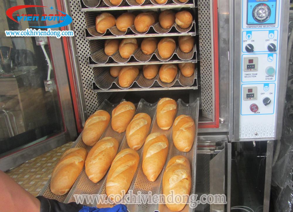 Lò nướng bánh mì xoay 6-12 khay