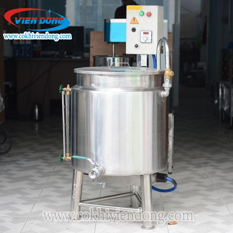 Nồi nấu sữa đậu nành bằng điện 60L