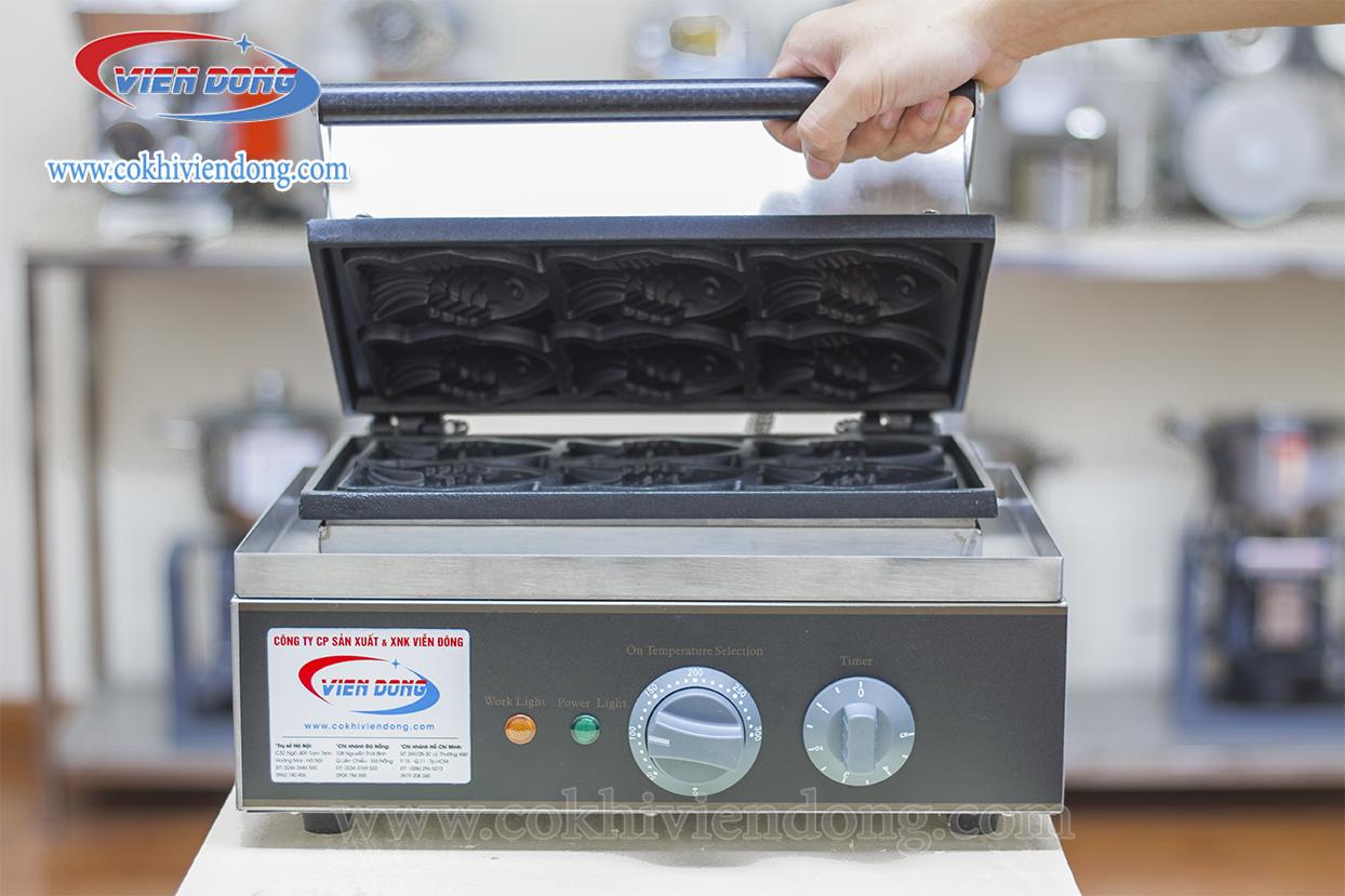 máy nướng bánh cá