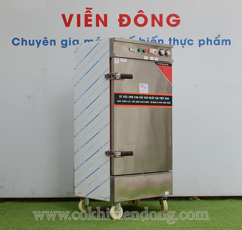 Tủ hấp công nghiệp 10 Khay điện Việt Nam