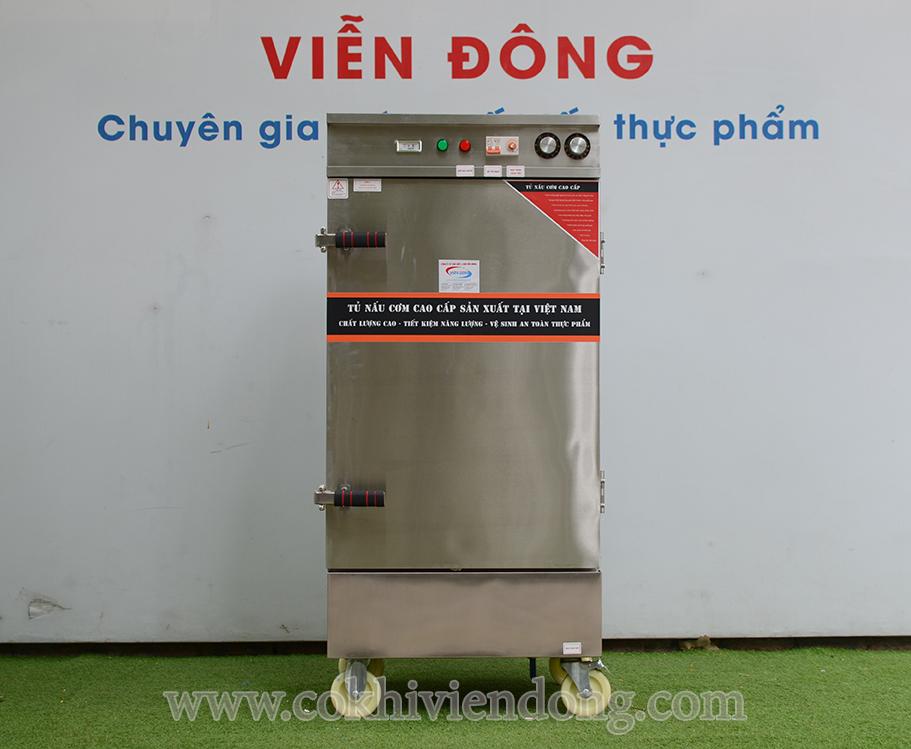 tủ hấp công nghiệp điện & Gas 10 khay