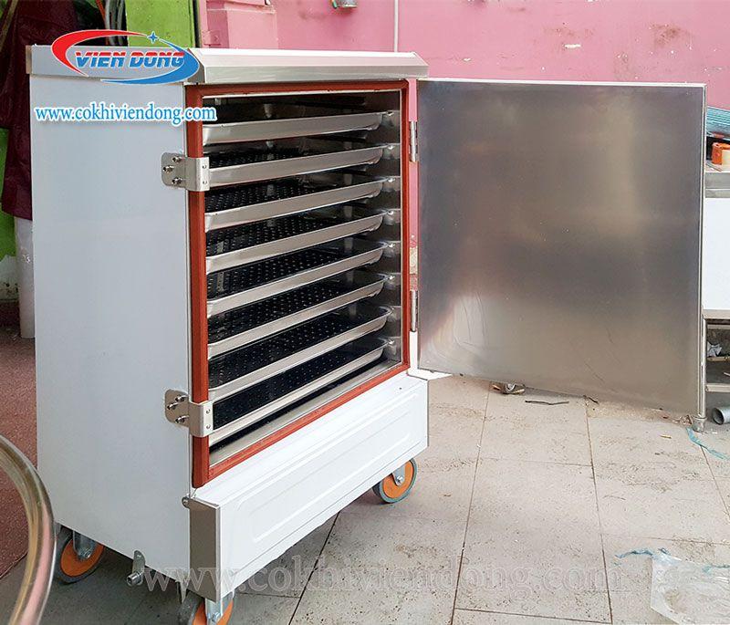 Tủ hấp công nghiệp dùng điện giá rẻ