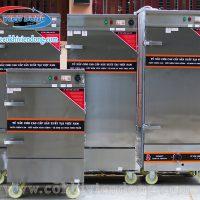 Tủ hấp công nghiệp điện & Gas 10 khay Việt Nam