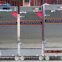 Tủ hấp công nghiệp điện & gas 8 khay Việt Nam