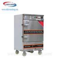 Tủ hấp công nghiệp 6 khay Việt Nam sản xuất