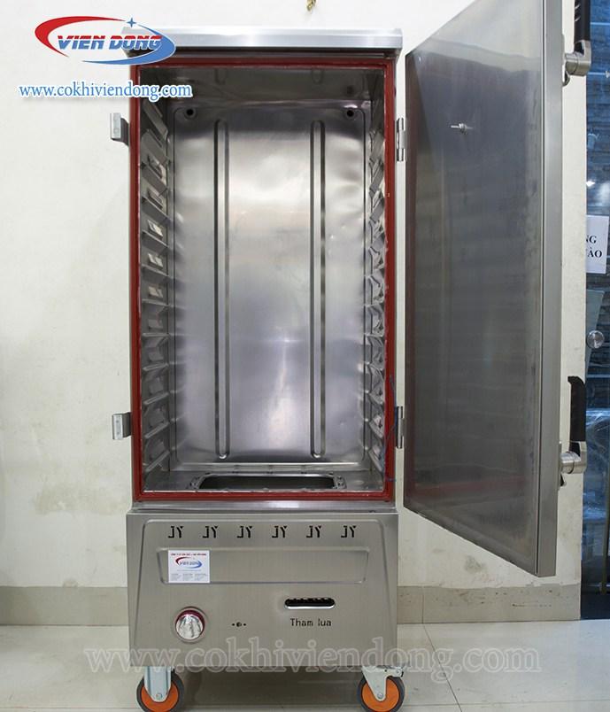 Tủ hấp công nghiệp bằng Gas