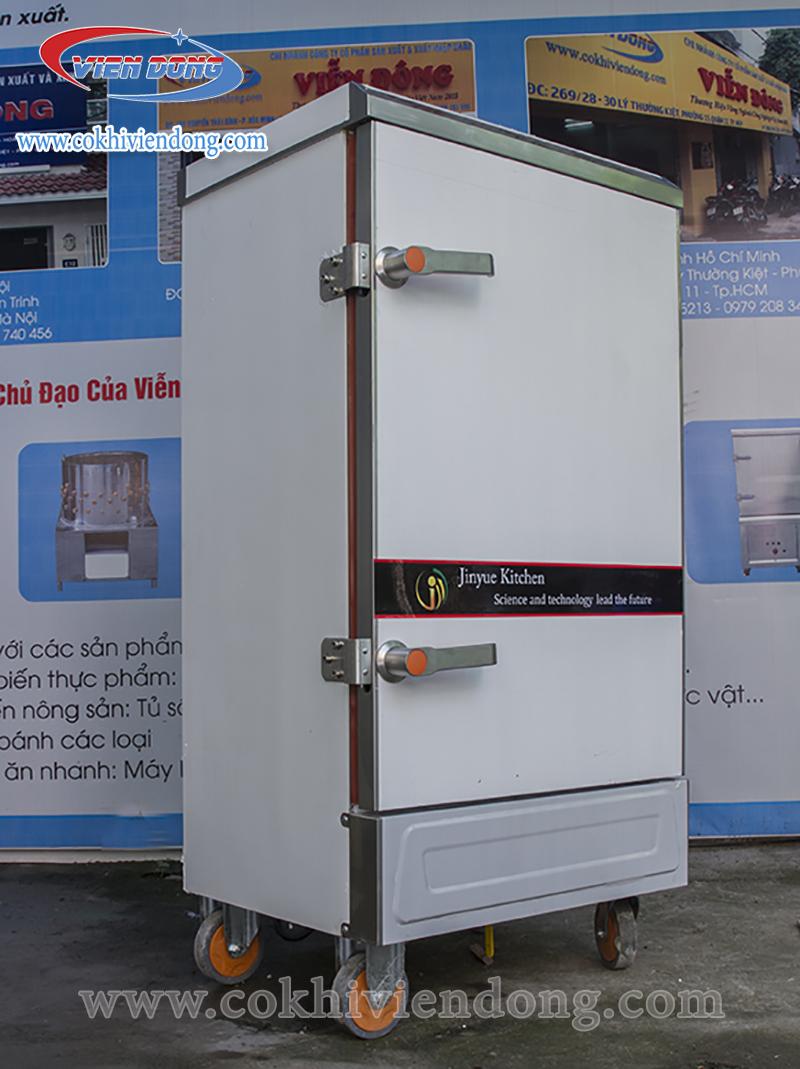 Tủ hấp công nghiệp dùng điện 10 khay