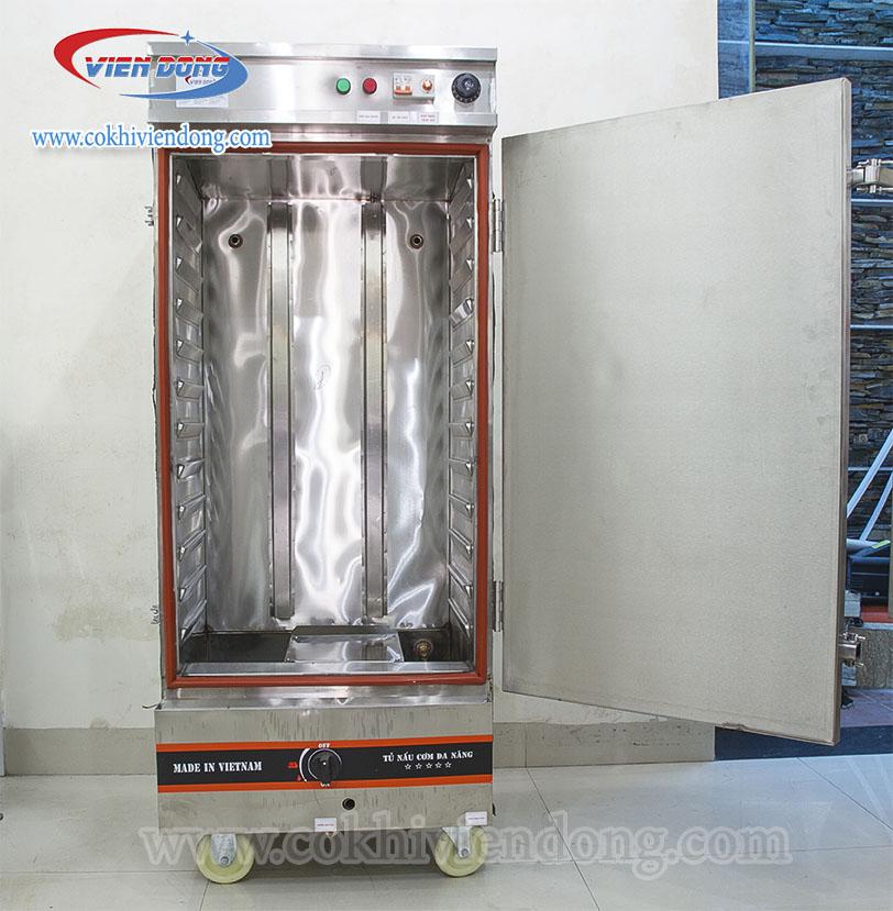 tủ hấp công nghiệp 12 khay Việt Nam
