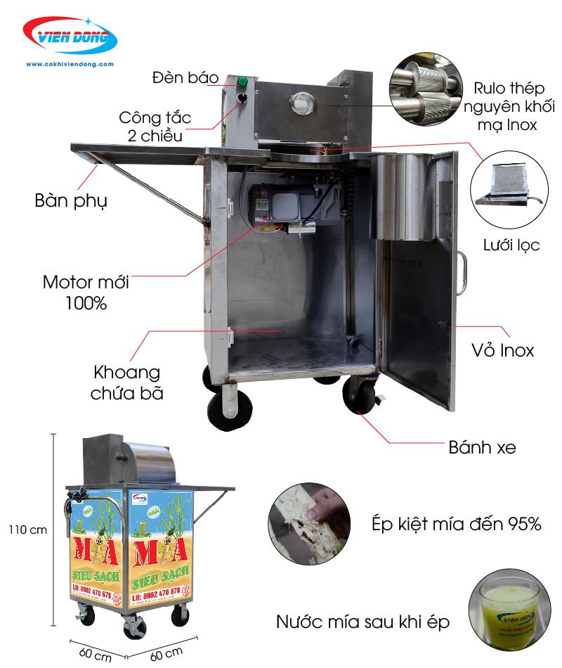 Chi tiết máy ép mía thùng cắt-01