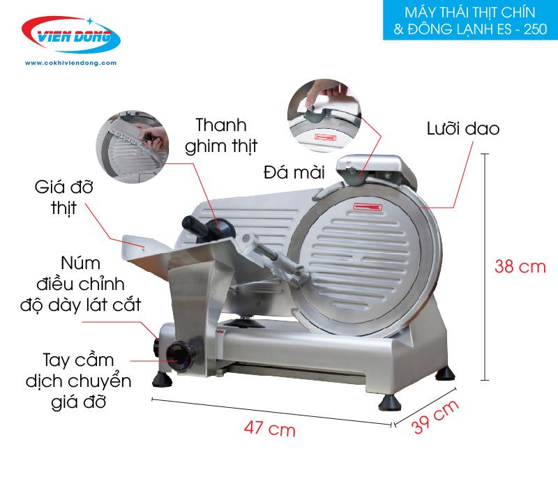chi tiết máy ES - 250-01