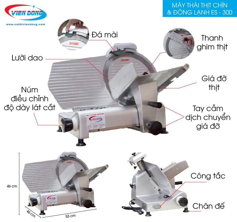 chi tiết máy ES 300-01