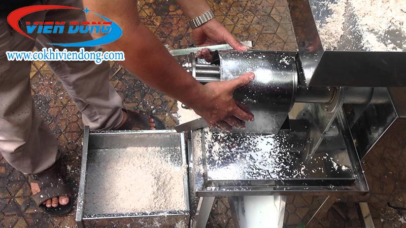 Dịch vụ sửa chữa máy ép cốt dừa
