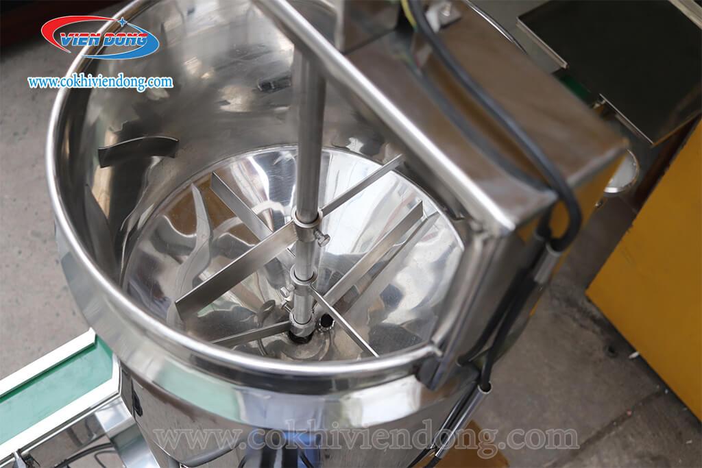 máy chiết rót 1 vòi có gia nhiệt+ nồi nấu cánh khuấy (5)
