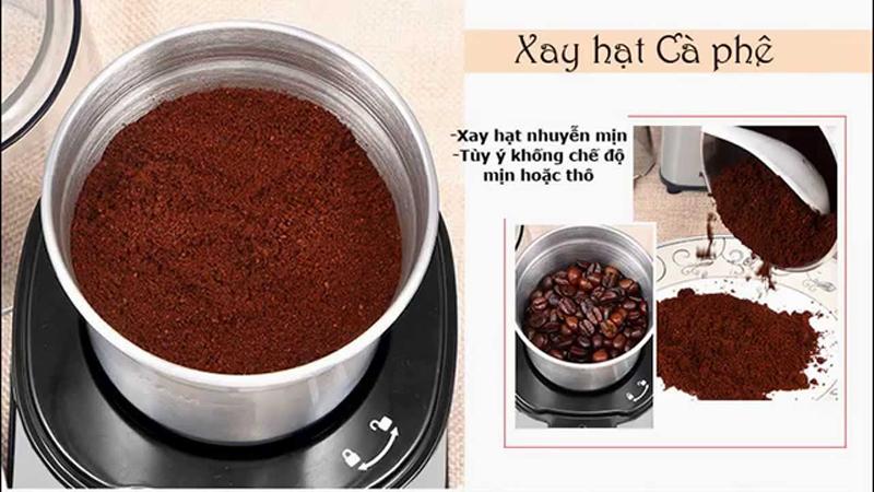 máy xay cà phê inox