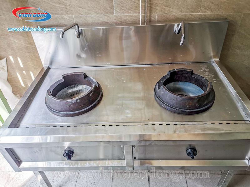 Bếp Á 2 họng - Bếp Á công nghiệp