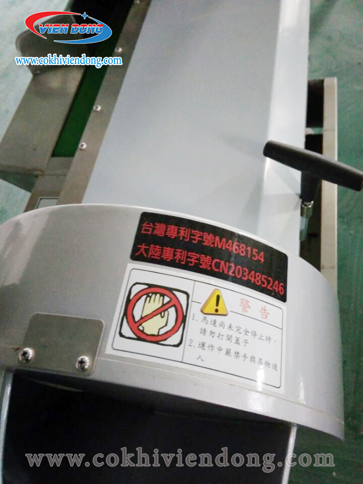 Máy cắt rau củ băng tải 801 Viễn Đông - Năng suất vượt trội