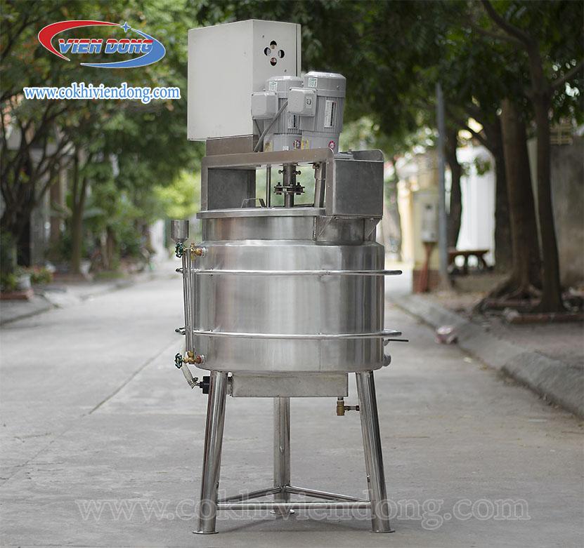 Hệ thống nồi nấu sữa đặt hàng