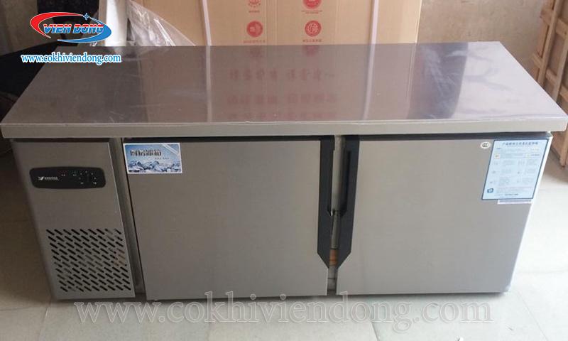 Tủ mát, tủ đông, tủ đông mát có bàn sơ chế