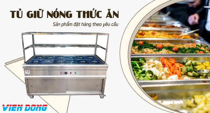 Tủ giữ nóng thức ăn - Tủ hâm nóng thức ăn
