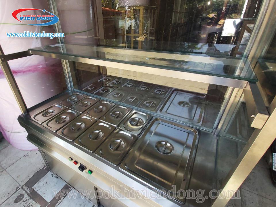 GIÁ tủ giữ nóng thức ăn mới nhất - tủ hâm nóng thực phẩm