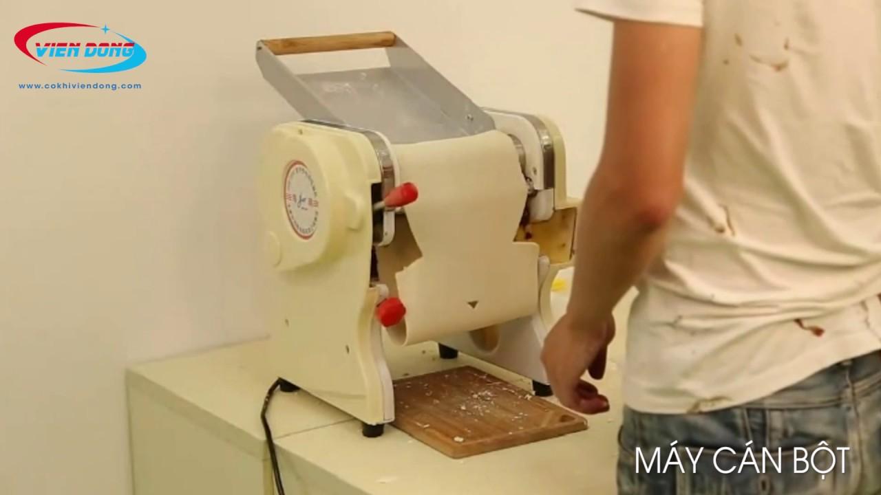 máy cán bột mì mini