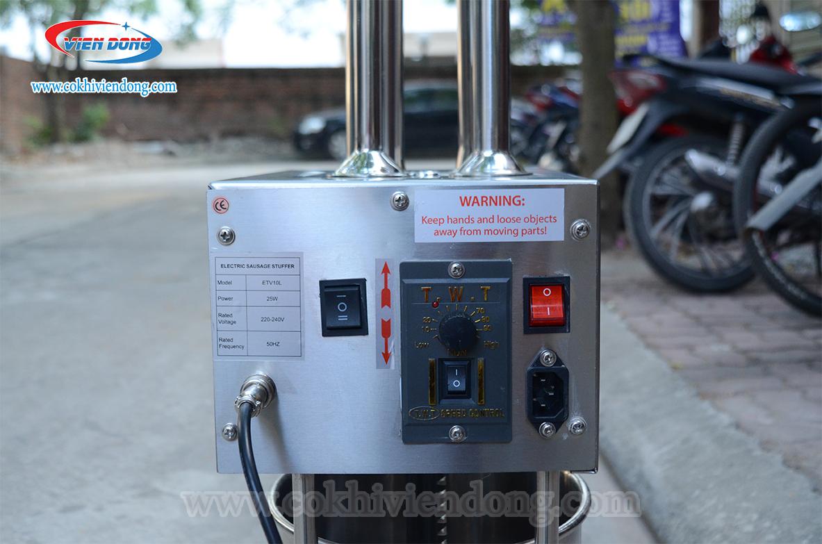 Máy đùn xúc xích điện ETV10