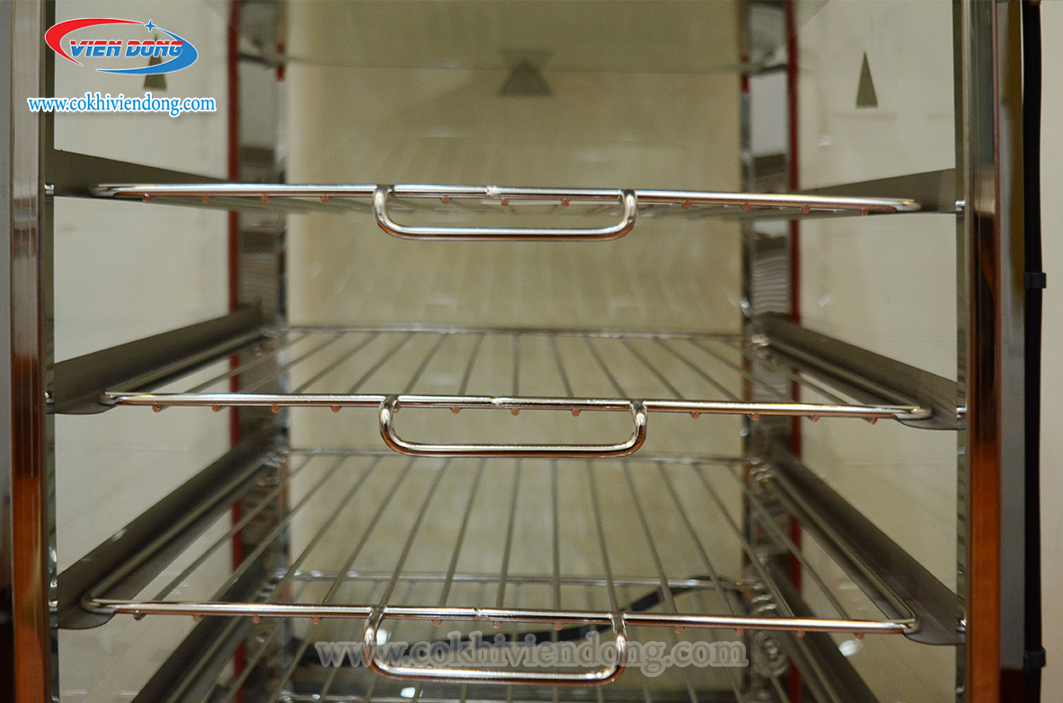 tủ trưng bày bánh bao