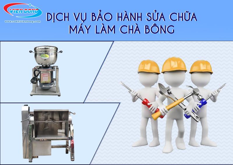 Dịch vụ sửa chữa bảo dưỡng máy làm chà bông