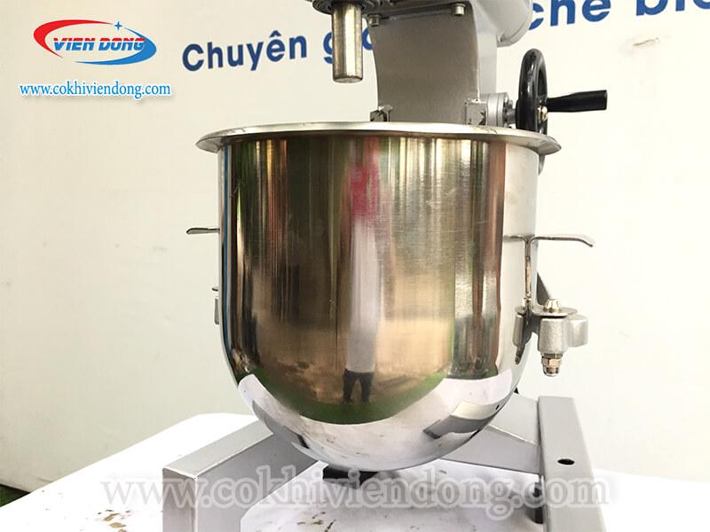 Thùng chứa bột máy đánh trứng