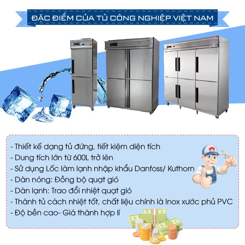 Đặc điểm của tủ đông công nghiệp Việt Nam-01