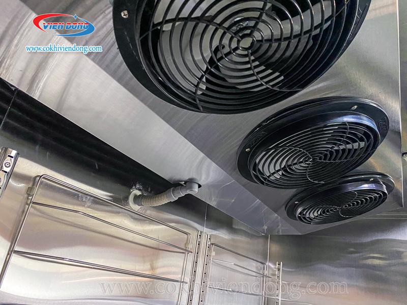 Tủ đông mát công nghiệp 6 cánh