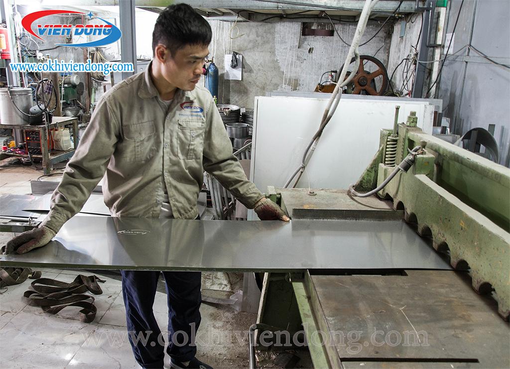 sản xuất nồi hầm xương điện 150l