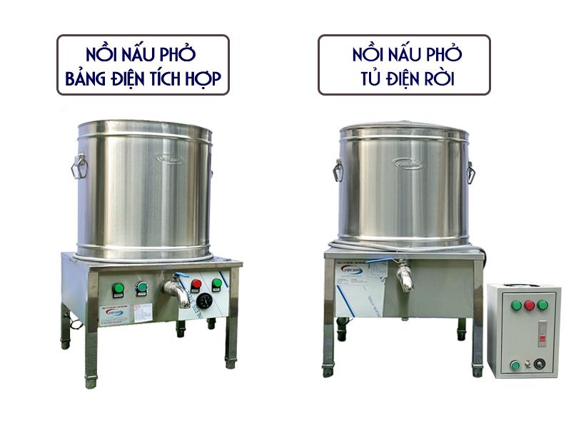 nồi nấu phở - nồi nấu phở tủ điện rời